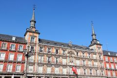 Madrid - Plaza Mayor Stock Image