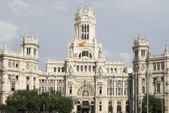 Madrid , post office. Spain Stock Image