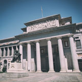 Madrid Prado Stock Photo