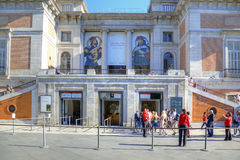 Madrid. Prado Museum Stock Photos