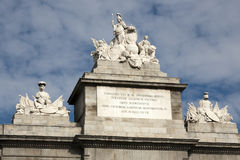 Madrid - Puerta de Toledo detail Royalty Free Stock Image