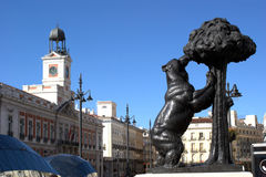 Madrid - Puerta del Sol Royalty Free Stock Images