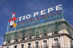 Madrid - Puerta Del Sol lizenzfreie stockbilder