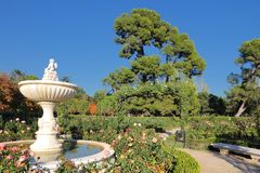 Madrid Retiro Park Royalty Free Stock Photos