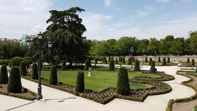 Madrid Retiro Park Royalty Free Stock Photo