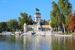 Madrid - Retiro parkerar Royaltyfri Bild