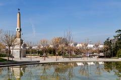 Madrid Rio Park Stock Image