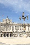 Madrid - Royal Palace Stockbild