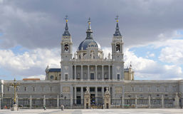 Madrid, Royal Palace Royalty Free Stock Photography