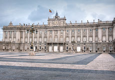 Madrid - Royal Palace Stock Photo