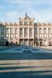 Madrid Royal Palace Fotografie Stock Libere da Diritti