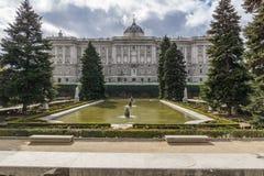 Madrid Royal Palace lizenzfreies stockfoto