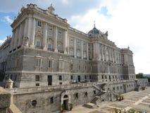 Madrid, Royal Palace Fotografia Stock Libera da Diritti