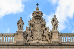 Madrid Royal Palace Royalty Free Stock Photography