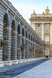 Madrid Royal Palace, Courtyard View, Spain Stock Photography