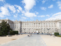 Madrid Royal Palace Royalty Free Stock Images