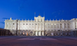 Madrid Royal Palace (Palacio de Oriente) Stock Photo