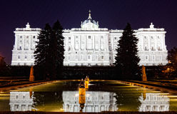 Madrid Royal Palace Royalty Free Stock Photo