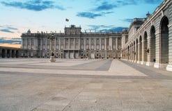 Madrid Royal palace, Spain Stock Photo