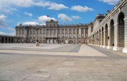 Madrid Royal palace, Spain Royalty Free Stock Image
