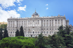 Madrid Royal Palace Stock Images