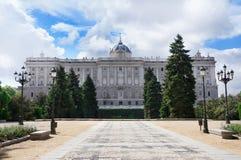 Madrid Royal Palace Stock Photos