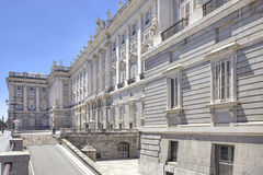 Madrid. Royal palace Royalty Free Stock Photography