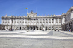 Madrid. Royal palace Royalty Free Stock Images