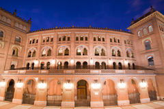 Madrid's bullfighting arene Stock Photography