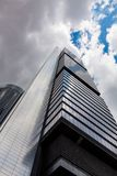 Madrid`s business tower-skyscraper Royalty Free Stock Images