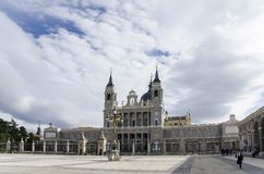 Madrid's Cathedral Stock Photography
