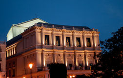 Madrid's Opera House Royalty Free Stock Image