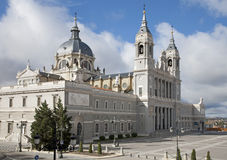 Madrid  - Santa Maria la Real de La Almudena cathedral Stock Photography