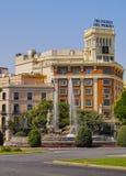 Madrid Skyline Stock Photography