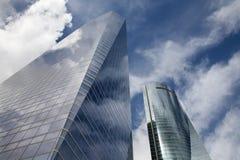 Madrid - Skyscraper Torre de Cristal Stock Images
