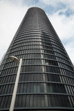 Madrid - Skyscraper Torre Sacyr Vallhermoso Royalty Free Stock Photography