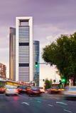 Madrid Skyscrapers Royalty Free Stock Photos