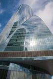 Madrid - skyskrapa Torre Espacio Fotografering för Bildbyråer