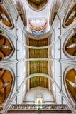 Madrid, Spagna - Almudena Cathedral Fotografie Stock Libere da Diritti