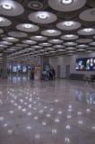 Madrid, Spagna - 22 marzo 2018: Aeroporto internazionale Ter di Barajas immagini stock