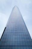 Grattacielo della costruzione di settore commerciale di Torres di cuatro (CTBA), in Madri Fotografie Stock Libere da Diritti