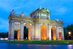 Madrid, Spain. Puerta de Alcalá, Madrid, Spain Stock Image