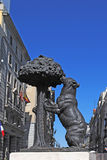 MADRID, SPAIN - AUGUST19: The monument is a symbol of Madrid (be Royalty Free Stock Photography