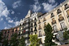 Madrid Spain: building Royalty Free Stock Photos