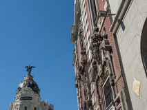 Madrid in spain Royalty Free Stock Photography