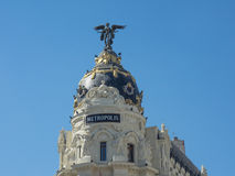 Madrid in spain Stock Images