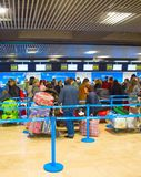 Check-in counter in airport Royalty Free Stock Photography