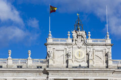 MADRID, SPAIN - DECEMBER 06, 2014: Royal Palace in Madrid Royalty Free Stock Image