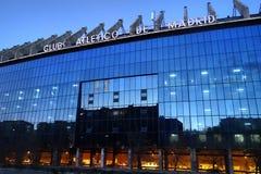 Vicente Calderon Stadium in Madrid, Spain royalty free stock photography