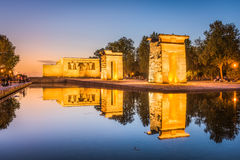 Madrid, Spain Egyptian Temple Stock Image